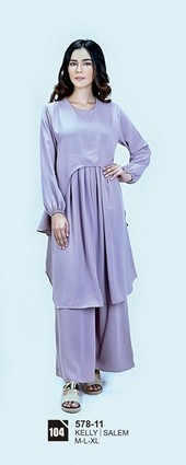 Long Dress Azzurra 578-11