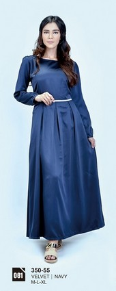 Long Dress Azzurra 350-55