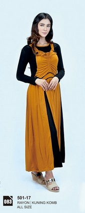 Long Dress Azzurra 501-17