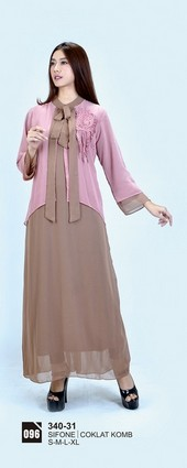 Long Dress Azzurra 340-31
