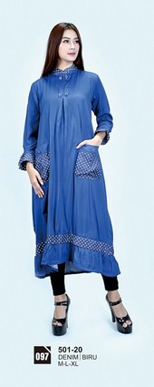 Long Dress Azzurra 501-20