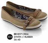 Flat shoes Krem Everflow ER 017