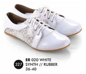 Flat shoes Putih Everflow ER 020
