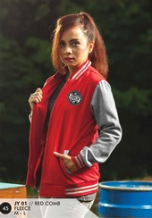Jaket Fleece Wanita Merah Everflow JY 01