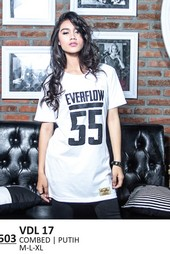 Kaos T Shirt Wanita Everflow VDL 17