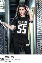 Kaos T Shirt Wanita Everflow VDL 35
