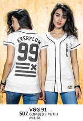 Kaos T Shirt Wanita Everflow VGG 91