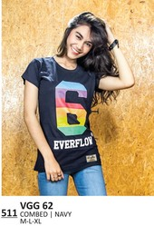 Kaos T Shirt Wanita Everflow VGG 62