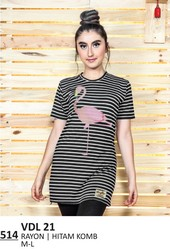 Kaos T Shirt Wanita Everflow VDL 21