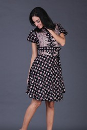 Dress Hitam Garsel Fashion FII 006