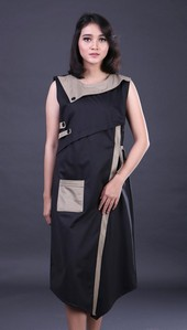 Dress Hitam Garsel Fashion FNS 010