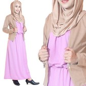 Long Dress Rayon Gnine GN 1507