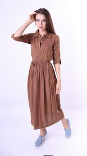 Long Dress Cotton Geearsy GR 3241